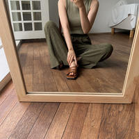 《予約販売》rincl khaki pants_np0214
