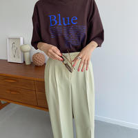 《予約販売》Blue tee/3colors_nt0973