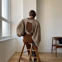 《予約販売》cable sleeve cape/3colors_nt0781
