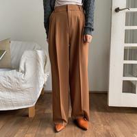 《予約販売》two tuck twil wide pants/2colors_np0273