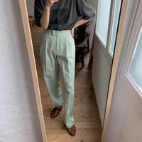《予約販売》mint linen pants_np0194