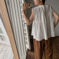 《予約販売》piping lady blouse/2colors_nt0508