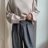 ✳︎予約販売✳︎wrap crop pants/2colors_np0062