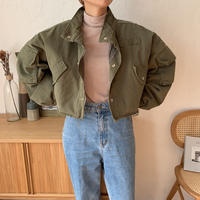 《予約販売》quilting liner military jacket/2colors_no0103