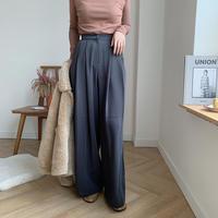 ✳︎予約販売✳︎tuck wide long pants/2colors_np0087