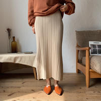 《予約販売》random lib knit skirt/3colors_ns0049