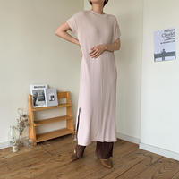 《予約販売》point knit ops_nd0044