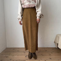 《予約販売》twill long skirt/2colors_ns0055