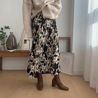 ✳︎予約販売✳︎ mottled skirt_ns0026