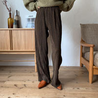 《予約販売》check rincl pants_np0270