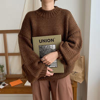 ✳︎予約販売✳︎lowgage over knit/2colors_nt0251