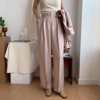 《予約販売》glossy straight pants/2colors_np0148