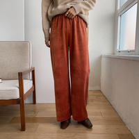 《予約販売》velvet easy daily pants/3colors_np0327