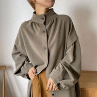 【nokcha original】2way quality lady ops/deep khaki_nd0084