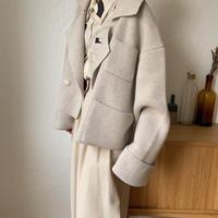 《予約販売》2type knit jacket/2colors_no0142