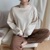 ✳︎予約販売✳︎neck out knit_nt0107