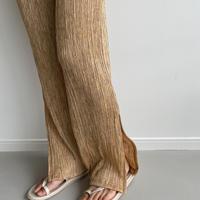 《予約販売》sheer rincl slit pants/3colors_np0424