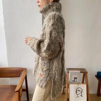《予約販売》mix melange knit/2colors_nt0713