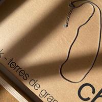 《予約販売》silver925 snake thin necklace_na0261