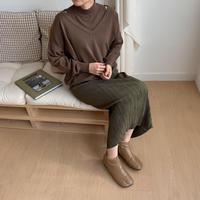 ✳︎予約販売✳︎2piece knit pullover_nt0140