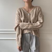 ✳︎予約販売✳︎ lady minmal knit cardigan_no0025