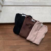 《予約販売》bottan lib knit tops/3colors_nt0623