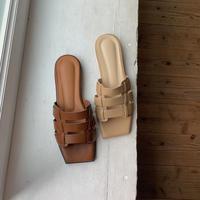 《予約販売》mesh flat sandal/2colors_na0161