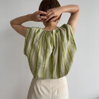 《予約販売》mulch stripe blouse/2colors_nt1008