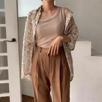 《予約販売》pattern ennui  shirt /2colors_nt0515