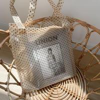✳︎予約販売✳︎dot sheer bag