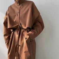 【nokcha original】2way quality over trench coat/renga_no0146