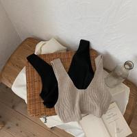 《予約販売》lady knit bustier/2colors_nt0551