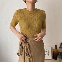 《予約販売》lacy sheer knit/2colors_nt0414