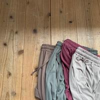 《予約販売》pigment easy pants/4colors_np0268