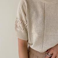 《予約販売》lacy summer knit_nt0924