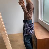 《予約販売》satin gather minimal bag/2colors_na0198