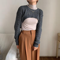 《予約販売》minimal unique knit/3colors_nt0625