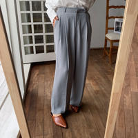 《予約販売》two tuck toromi wide pants/3colors_np0272