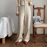 《予約販売》rincl glossy satin pants/2colors_np0245