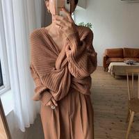 《予約販売》cache-coeur knit/2colors_nt0627