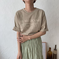 《予約販売》mexicano tee/2colors_nt0360