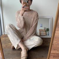《予約販売》low gage s/s knit_nt0390