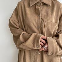 《予約販売》corduroy over shirt_nt1073