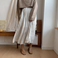 ✳︎予約販売✳︎champagne skirt/2colors_ns0033