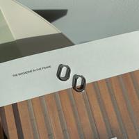 ✳︎予約販売✳︎silver925 square minimal pierce_na0098