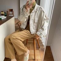 《予約販売》minimal over military jacket/3colors_no0145