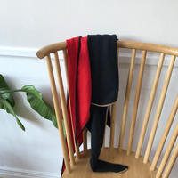 カシミヤブレンドニットスカーフ/2colors