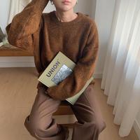 ✳︎予約販売✳︎mix brown knit_nt0209