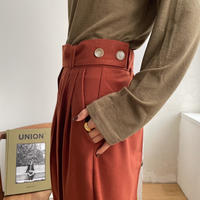 《予約販売》bottan warm wide pants/2colors_np0319