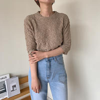 《予約販売》rincl tops/2 colors_nt0385
